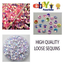 6MM-8MM Flower Cup Loose Sequins Sewing Wedding & Crafts - 500-750 PCS