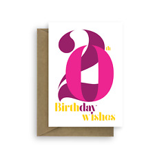 20th Birthday Wishes card for girl 20 Happy birthday card for her daughter pink