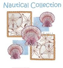 NAUTICAL COLLECTION - MACHINE EMBROIDERY DESIGNS ON CD
