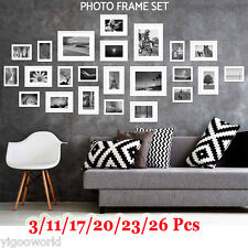 3/11/17/20/23/26 Pcs Picture Photo Frames Set Home Wall Decor Art Gift Present