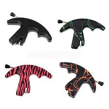 Archery Plastic Handle Grip Thumb Activated Bow Release Aid for Compound Bow