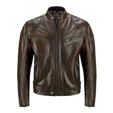 Belstaff Supreme Wax Leather Jacket - Black/Brown