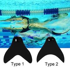Mermaid Tails Adult Kids Swimmable Monofin Swimming Training Fin Foot Flipper
