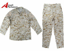 Military Special Force Army Tactical Combat BDU Uniform Shirt Pants Digi Desert