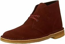 Clarks Men's Bushacre 2 Desert Boot Sizes 8.5 And 9.5 Color Nut Brown