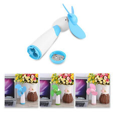 Portable Handheld Mini Fan Super Mute Battery Operated Fan for Cooling AF