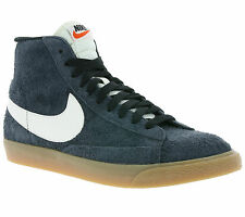 NIKE WMNS Blazer Mid Suede Vintage Ladies Real leather Sneaker Grey 518171 017