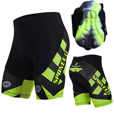 Mens Bicycle Cycling Shorts MTB Road Bike Clothing Lycra Non-slip Padded Tights