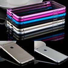 Luxury Ultra Thin Metal Aluminium Alloy Bumper Case Cover for iPhone 5 5S 6 Plus