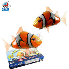 Air Flying Shark Clown Fish Swimmer Remote Controlled RC Kids Toy Childrens Day