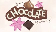 SIMPLY CHOCOLATE COLLECTION - MACHINE EMBROIDERY DESIGNS ON CD