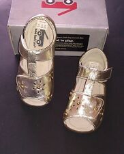 NWB See Kai Run Mal B Gold Sandals Size 7 or 9