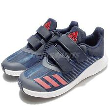 adidas FortaRun CF K Blue Navy Kids Boys Junior Running Shoes Trainers BA7890