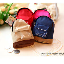Mini Small Cute Women Lady Girl Pouch Coin Purse Backpack Canvas Bag Wallet GN0
