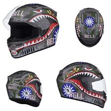 Bell Vortex Flying Tiger Full Face Motorcycle Helmet