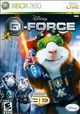 Xbox 360 Disney G-Force 3D Glasses Inlcuded New