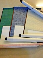 Empty Blank Chinese Painting Calligraphy Silk and Rice Xuan Paper Wall Scroll