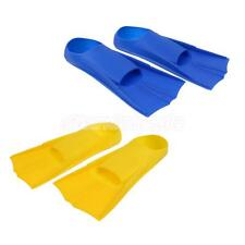 Silicone Resistance Training Aid Swimming Snorkel Scuba Dive Fins Flippers Shoes