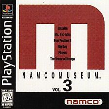 Namco Museum Volume 3 - PS1 PS2 Complete Playstation Game PSOne PS1