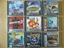 Original & Complete Classic / PS1 Games - Over 35 Titles - Retro / Collectables