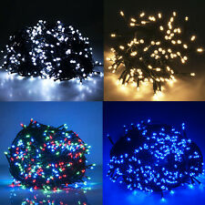 300LED 98FT Fairy String Christmas Party Garden Tree Xmas Lights Outdoor Indoor