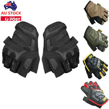 AU Tactical Gloves Military Army Airsoft Shooting Hunting Half Finger Gloves