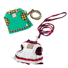 Pet Cat Leash Kitty Clothes Small Puppy Harness Vest Jacket and Walking Harness