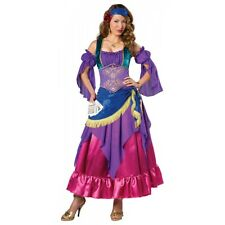 Fortune Teller Costume Adult Gypsy Halloween Fancy Dress