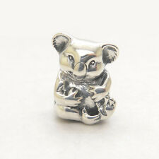 Authentic Genuine S925 Sterling Silver Koala Bead Charm