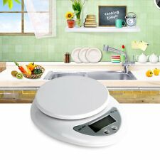 5kg 5000g/1g Digital Kitchen Food Diet Postal Scale Electronic Weight Balance OP