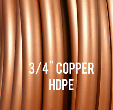 """Copper 3/4"""" HDPE Dance & Exercise Hula Hoop COLLAPSIBLE FITNESS arm hoops"""
