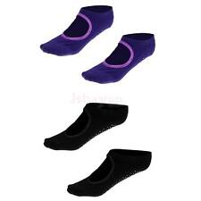 Cotton Yoga Socks Dance Socks Fitness Socks for Barre Non Slip Skid Ballet