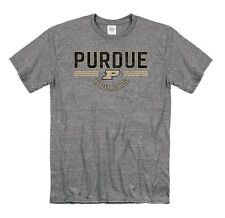 Purdue Boilermakers Adult Trifecta Snow Heathered T-Shirt  - Charcoal