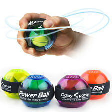 Gyroscope LED Power Ball Gyro Wrist Arm Muscle Strength Exercise Force Counter