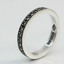 Judith Jack Sterling Silver Marcasite Eternity Ring Band