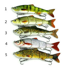 hot Minnow Fishing Lures Crank Bait Hooks Bass Crankbaits Tackle Sinking Popper