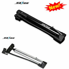 NEW 2017 SAHOO Mini Schrader Presta Valve Bicycle Floor Pump head come off  80 p