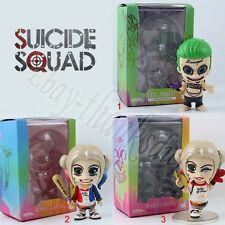 Suicide Squad The Joker Harley Quinn Cosbaby 9cm/3.6'' PVC Figure WB&NB New