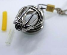 Cock Ring Chastity Device with Catheter Tube BDStyle