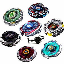 Rare Beyblade Sets Toy Fusion Metal Fight Master 4D Tops Rapidity + Launcher LOT