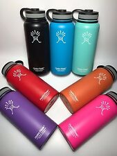 32oz/40oz Hydro Flask Insulated Stainless Steel Water Bottle, Wide Mouth