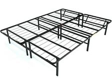 Metal Bed Frame Adjustable Twin XL Full Queen King Size Iron Black Color New