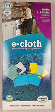 E-CLOTH CHEMICAL FREE CLEANING CLOTHS-BUY INDIVIDUAL OR 8 PIECE SET
