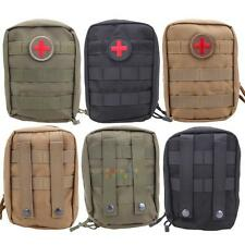 Tactical First Aid Bag Molle Medical EMT Pouch Outdoor Emergency Pack Bag