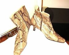 SNAKESKIN BOOTS-SAKS FIFTH AVENUE FOLIO COLLECTION -SIZE-7.5
