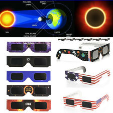 1/10pair Solar Eclipse Glasses 2017 Galaxy Edition CE and ISO Standard Viewing