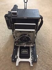 Graflex Pacemaker Speed Graphic 45 (4x5) w/ Graflex Optar 135mm f/4.7 Lens #246