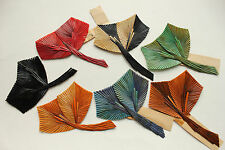 Vintage Feather Millinery Fancy Quill Trim made in France 3156 hat costume