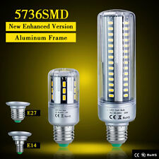 E27 E14 Led 5736 5W 7W 9W 15W 20W 25W Corn Light Bulbs Warm White Lamp AC85-265V