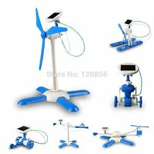 new 6 in 1 DIY solar toy kit robot windmill plane car educational solar power Ki